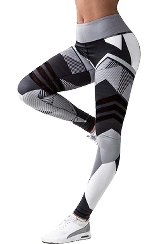 Legging de Sport Femme Push Up Fesse Sexy Skinny Fitness Pantalon Moulant  Taille Haute Imprimé Calzedonia Legging pour Gym Yoga Pilates Jogging  Athlétique ... 220a7a87cea3