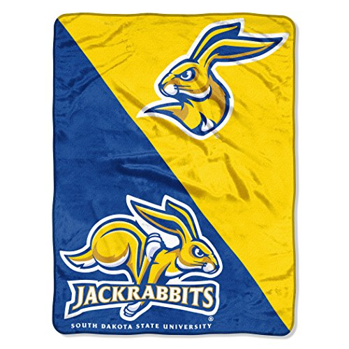 The Northwest Company Officially Licensed NCAA South Dakota State University Halftone Micro Raschel Throw Blanket, 46