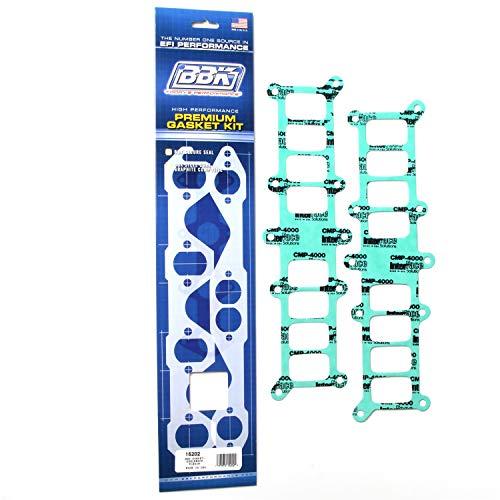BBK 15202 EFI Intake Manifold Gasket Set - Upper - Lower Kit for Edelbrock Ford 302, 351 Performer Manifold (Pack of 2)