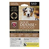 Nutri-Vet Defense Plus Flea & Tick Control for Large Dogs