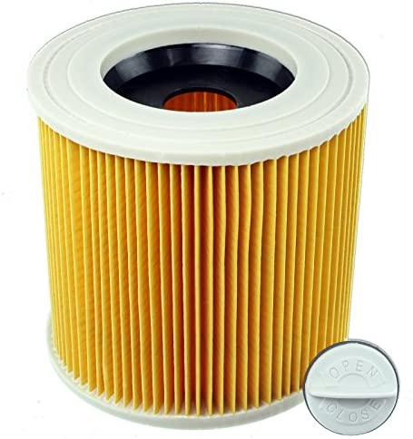 Spares2go Cartridge Filter for Karcher A2003 A2004 A2014 Wet & Dry Vacuum Cleaners