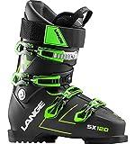 Lange SX 120 Ski Boots 2019-28.5/Transparent Black-Green