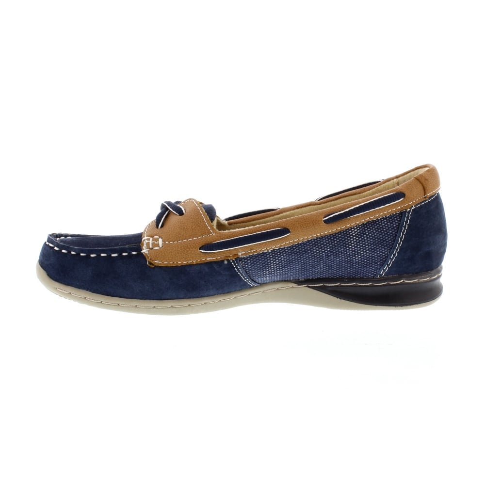 the best attitude 100% high quality shop Earth Spirit Women's Akron Composition Leather Deck Shoes 28113 ...