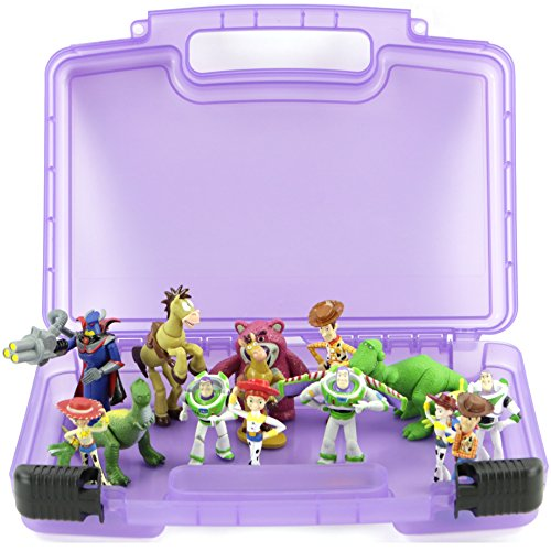 Life Made Better Toy Storage Organizer. Fits Up To 15 Mini Figures. Compatible With Disney Toy Story Mini Figures And (Kids Plush Dinosaur Wings Costume)