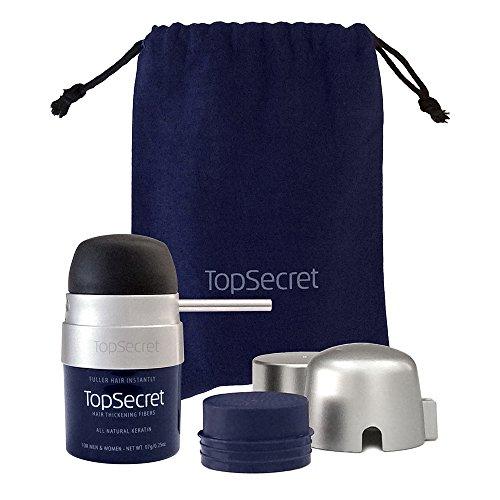 New Fiber (Top Secret Hair Thickening Fibers - All New Compact Design - Lht.Brwn (.25 OZ.))