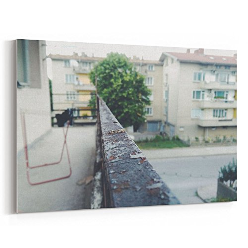 Westlake Art - Balcony Flat - 5x7 Canvas Print Wall Art - Ca