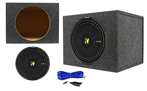 pC 15 1200 Watt Car Subwoofer+Sealed Sub Enclosure Box ()