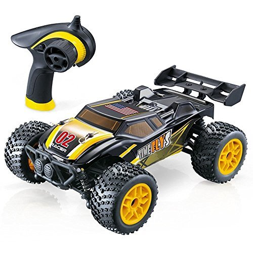 GP - NextX RC Cars S607 1/12 4WD 16+MPH High Speed Remote Control Off Road Monster Truck Electric Racing,Yellow