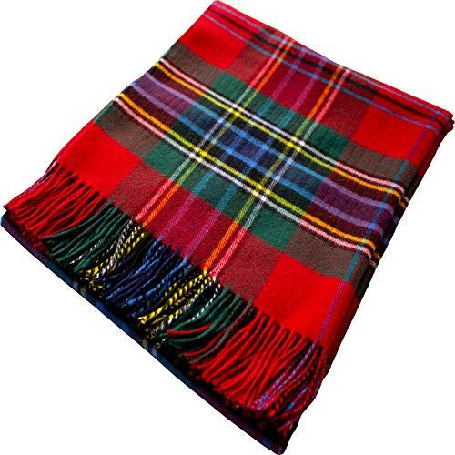 iLuv MacLean Duart Tartan Plaid 100% Lambswool Blanket