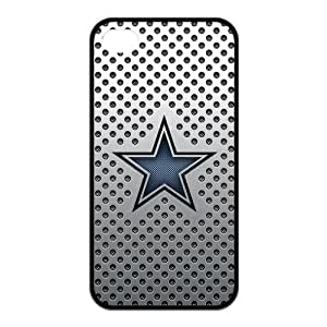 Godstore 2014 New Style NFL Dallas Cowboys Logo Cover Hard Plastic Case For HTC One M7 Cover Case
