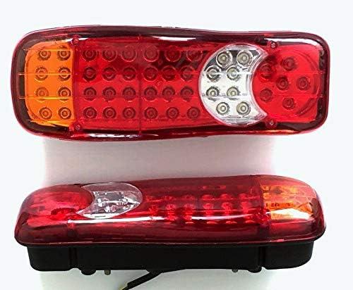 2/X LED Fanale Posteriore Recupero Luci 12/V Camion Telaio Camion Pianale Rimorchio Caravan