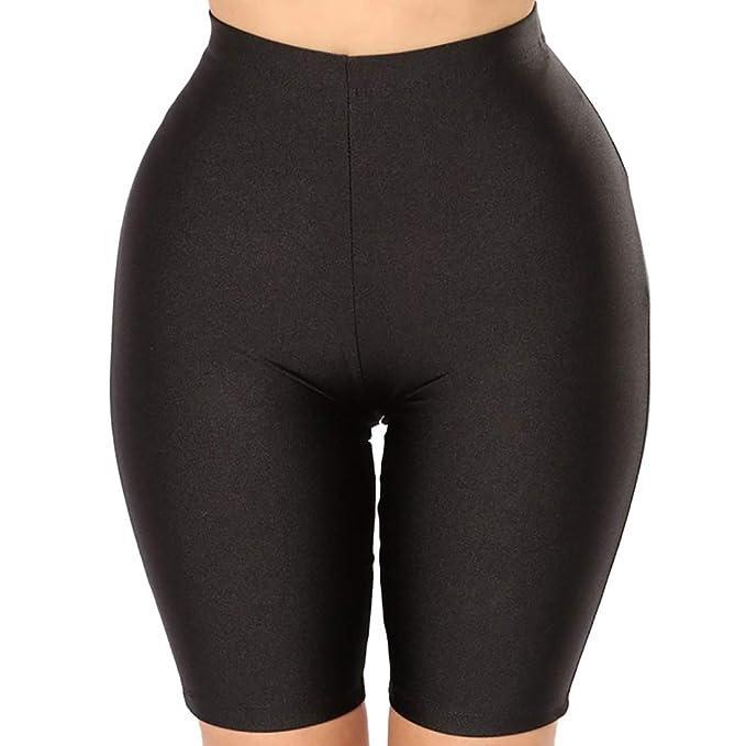 Amazon.com: HAODIAN - Pantalones cortos para mujer (medianos ...