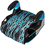 Evenflo AMP Select Car Booster Seat, Blue Flames