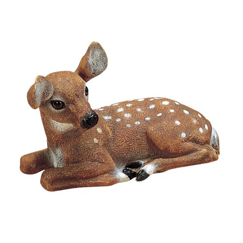 Sculptural Gardens by Heritage Farms Small Fawn Statuary