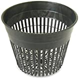 Daisy Products NP5 Net Pot, 5'', Black