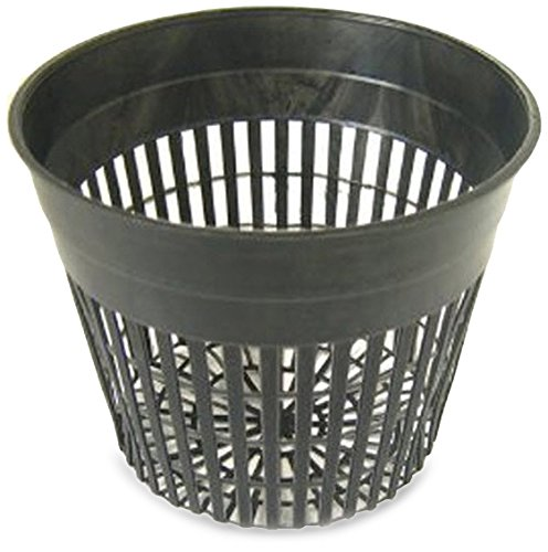 R&M Brand NP5, Hydroponic Net Pot for Plants, 5 Inch, 24 per Bag by Hydrofarm