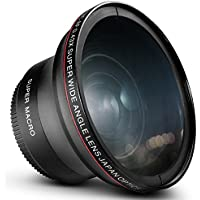 58MM 0.43x Altura Photo Professional HD Wide Angle Lens...
