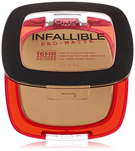 L'Oréal Paris Infallible Pro-Matte Powder, Sun Beige, 0.31 oz.
