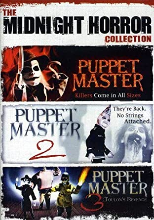 Amazon Com The Midnight Horror Collection Puppet Master Paul Le