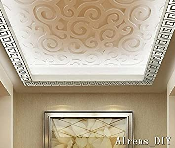 Alrens DIYTM 20pcs House Top Ceiling Mirror Wall Decoration 3D Sticker