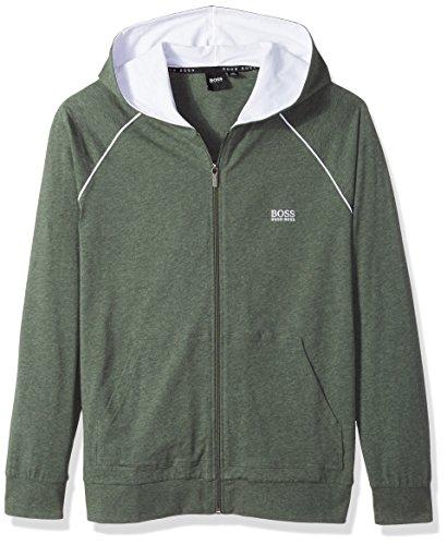 Hugo Boss Boss Men's Mix&Match Jacket H 10143871 02, Dark Green, L by Hugo Boss