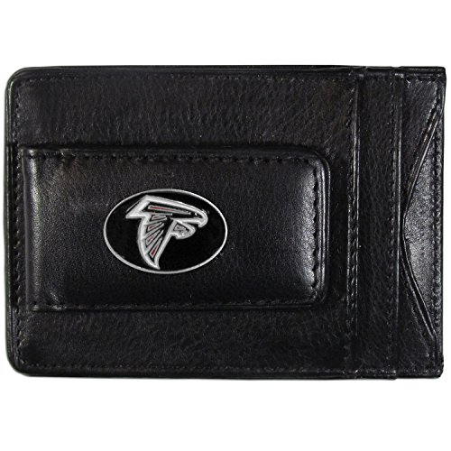 Siskiyou NFL Atlanta Falcons Leather Money Clip (Falcon Leather Wallet)