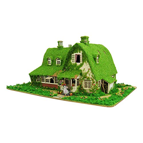 1/150 Studio Ghibli series Kiki's Delivery Service Kiki and Jiji house (Okino House) MK07-22 Paper Craft Sankei