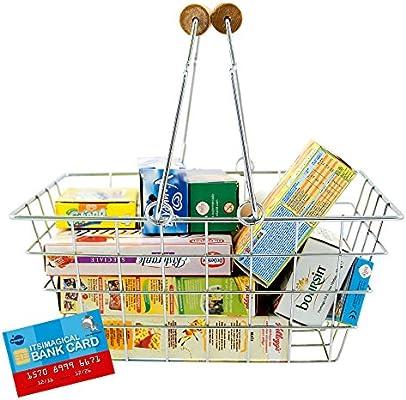 Imaginarium- Cesta de supermercado con comidita de Juguete ...