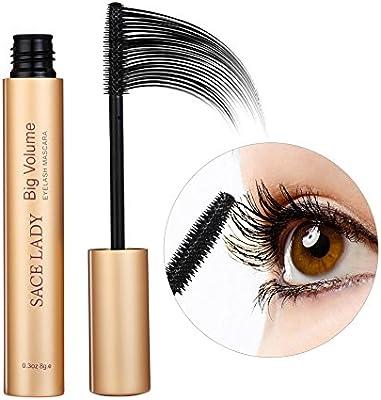 Amazon.com : SACE LADY Black Big Volumizing Eyelash Mascara, Waterproof Curling Lengthening Defining Mascara, 0.3Oz : Beauty