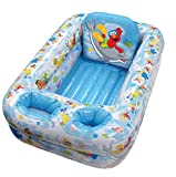 Sesame Street Inflatable Safety Bathtub, Blue