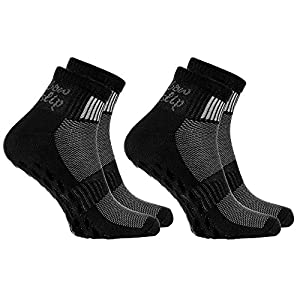 Rainbow Socks – Donna Uomo Sportive Calze Antiscivolo ABS di Cotone