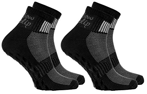 Rainbow Socks - Damen Herren Sneaker Baumwolle Antirutsch Sport Stoppersocken