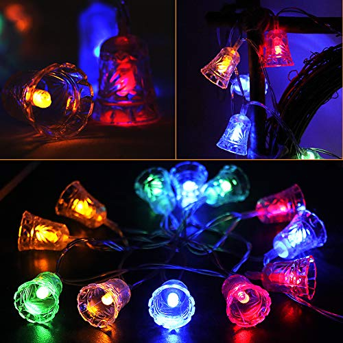 Angela&Alex String Lights, 16.4 ft Lights 40 LED Lights Day Mother's Day Home Decoration Waterproof 8 Modes for Indoor/Outdoor Tree Party Decorations ()