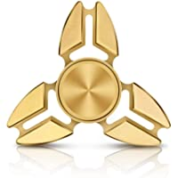 Emob 3 in 1 Pencil Gyro Mini Spinning Top Fidget Hand Spinner Toy with One Extra Steel Ball