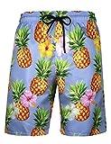 APTRO Men's Quick Dry Swim Trunks with Pockets Long Elastic Waistband Beach Board Shorts Bathing...