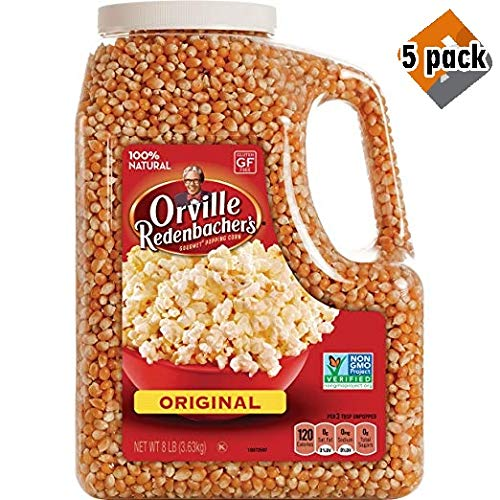 Gourmet Popcorn Kernels, Original Yellow 16lbs Total