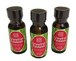 Package of Three (3) Aromatique .5 Oz Refresher Oils in Grapefruit Fandango