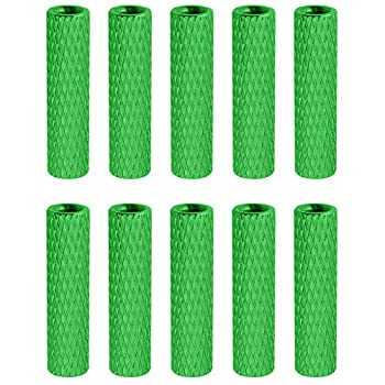 10 Pieces HobbyPark Aluminum M3x20mm Standoff Spacer Female-Female Round Column for RC Quadcopter Parts DIY Green 1