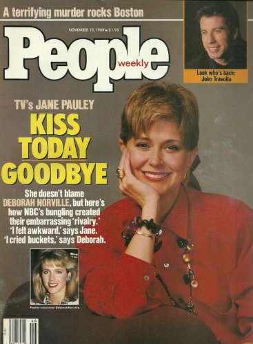 Jane Pauley, Deborah Norville, John Travolta, Mary McCarthy, Mary Stuart Masterson - November 13, 1989 People Weekly - Peoples Celebrities Oliver