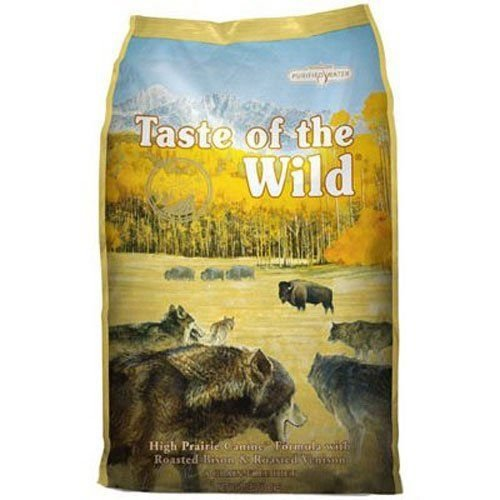 GOOD MEDIA Taste of the Wild Dry Dog Food, High Prairie Canine Formula with Roasted Bison