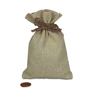 Amazon.com: Bolsas de lino y algodón con cáñamo – Bolsas de ...