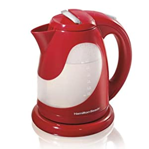 Hamilton Beach Ensemble Cord Free Pouring Kettle