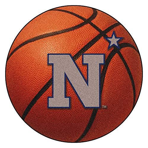 - FANMATS NCAA US Naval Academy Midshipmen Nylon Face Basketball Rug