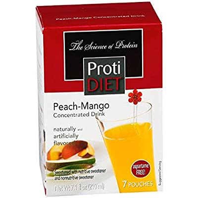 Proti Diet Peach-Mango Concentrated Drink Mix (7 servings)