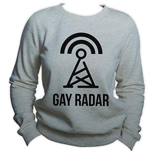 Gay Radar Gay Sweatshirt Pride LGBTQ Sweater Unisex Crewneck