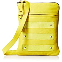 Latico Women's Jemma Cross Body Bag 6211 Yellow Leather Size OSFA
