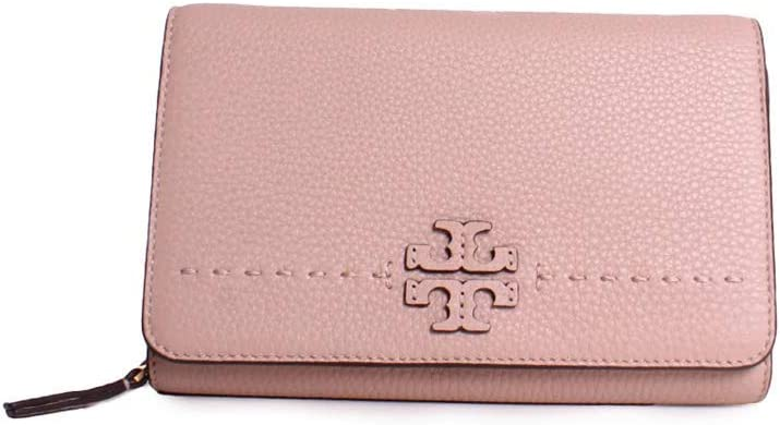 Tory Burch McGraw Flat Wallet Leather