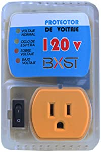 BSEED US Plug Home Appliance Surge Protector Power Suppressor Voltage Brownout Outlet 1 PACK