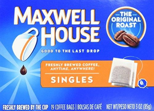 Maxwell House Original Blend Ground Coffee, Medium Roast, 19 Count