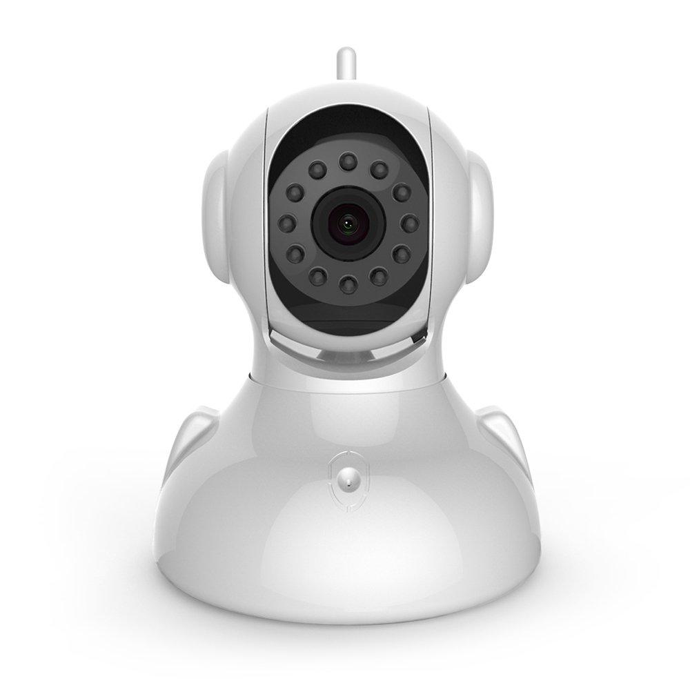 ERAY IP Kamera Indoor WLAN und Netzwerkkabel fü r Haussicherheit mit 720p HD, Baby/Pet-Monitor, Drehung, IR Nachtsicht, Zweiwege-Audio, IOS/Android APP, Kompatibel mit WM3FX, GT1 und M2C Alarmanlage